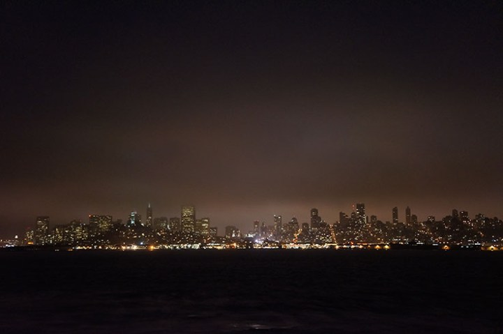 San Francisco avond skyline