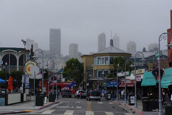 San Francisco fishermans warf