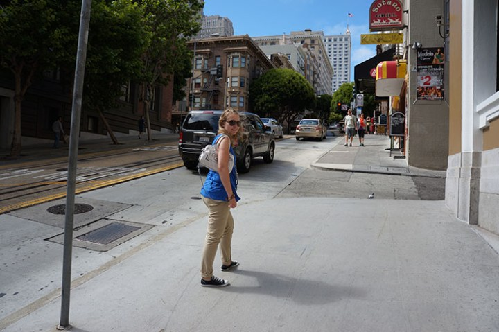 San Francisco steile straten