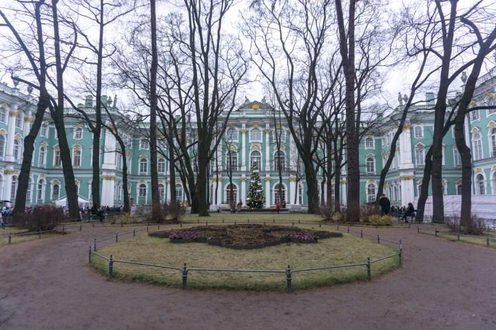 Sint Petersburg - Rusland - Hermitage Winterpaleis