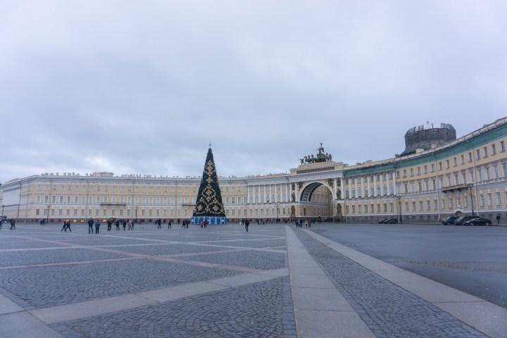 Sint Petersburg - Rusland - Hermitage palace square