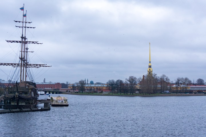 Sint Petersburg - Rusland - eilanden bruggen