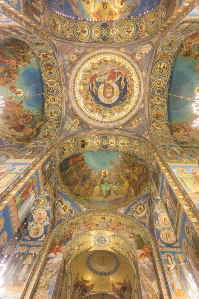 Sint Petersburg church of the savior on spilled blood Rusland