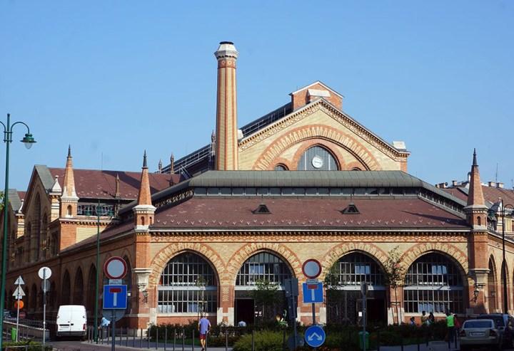 Centrale markthal Boedapest Hongarije