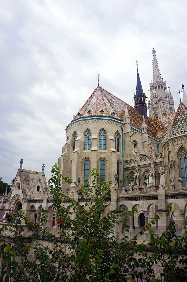 Matthiaskerk Boedapest Hongarije
