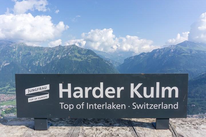 Interlaken-Zwitserland-harder-kulm