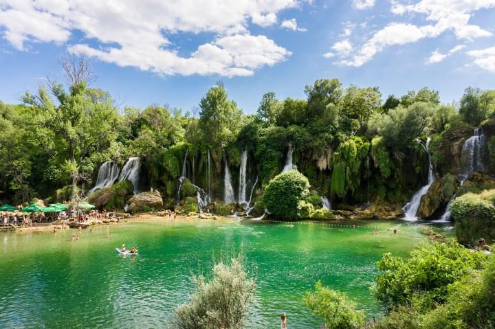Kravice-watervallen