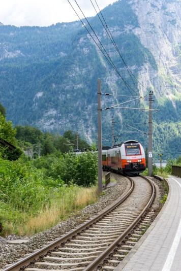 Hallstatt-Oostenrijk-treinstation