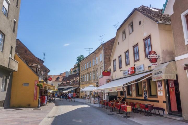 Restaurants en terrasjes in Zagreb