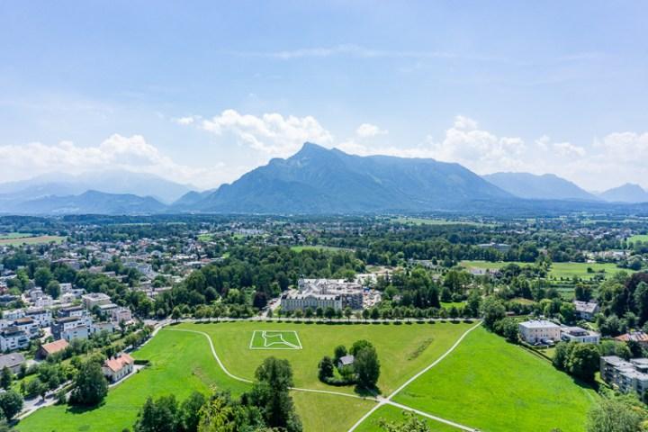 Het uitzicht vanaf Hohensalzburg