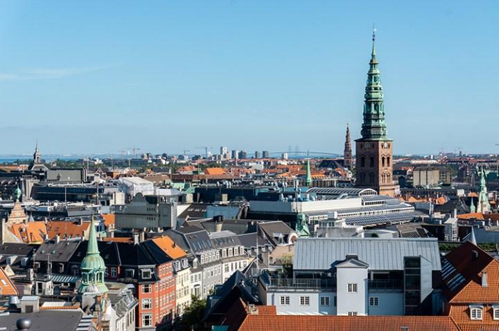 Uitzicht over Kopenhagen