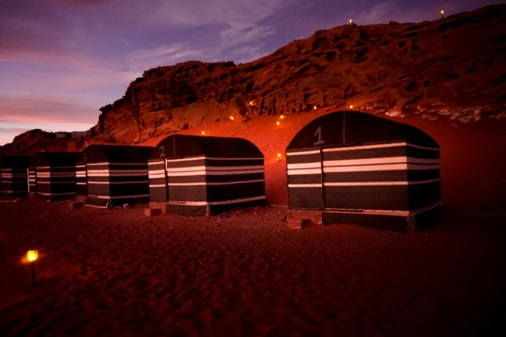 Candles Camp in Wadi Rum