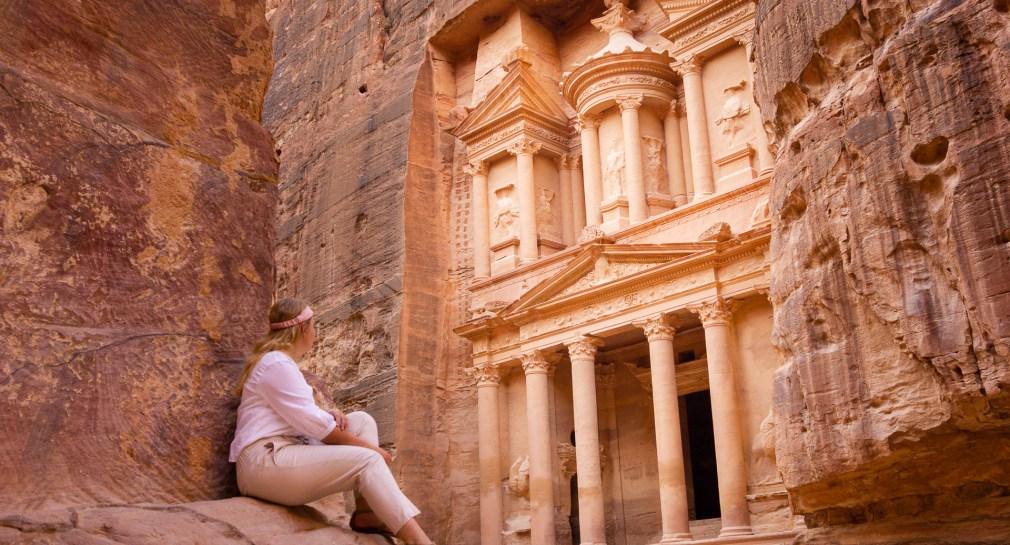 petra-jordanie-uitzicht-schatkamer