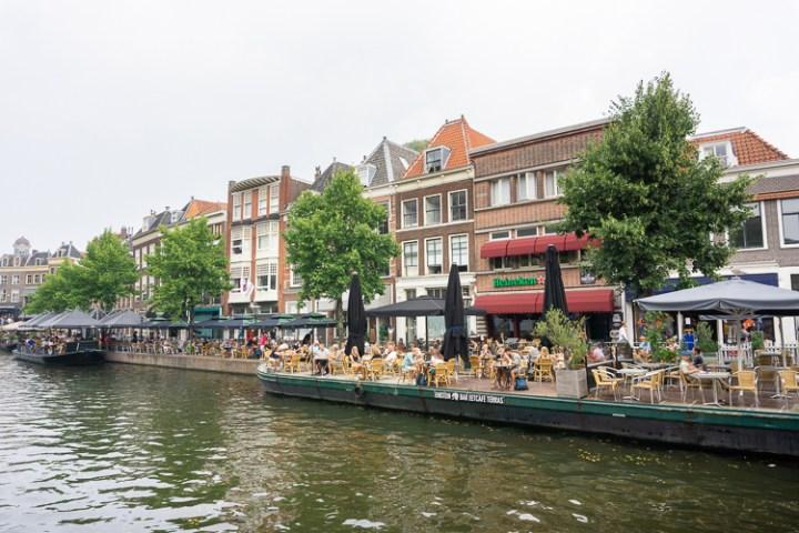 Terrasboot Einstein in Leiden