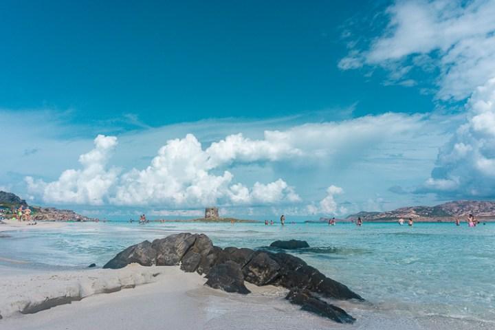 La Pelosa Stintino - mooiste stranden van Sardinië