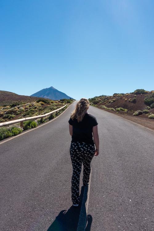 Weg naar El Teide