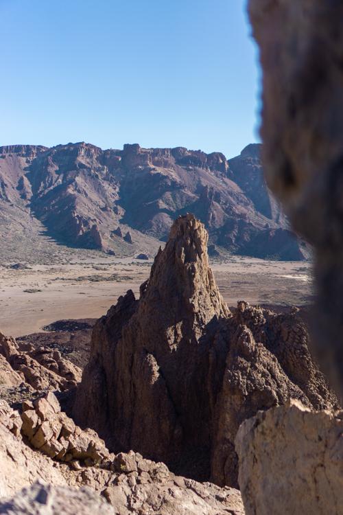El Teide maanlandschap