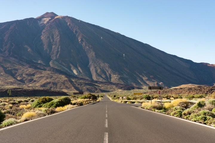 De vulkaan El Teide op Tenerife
