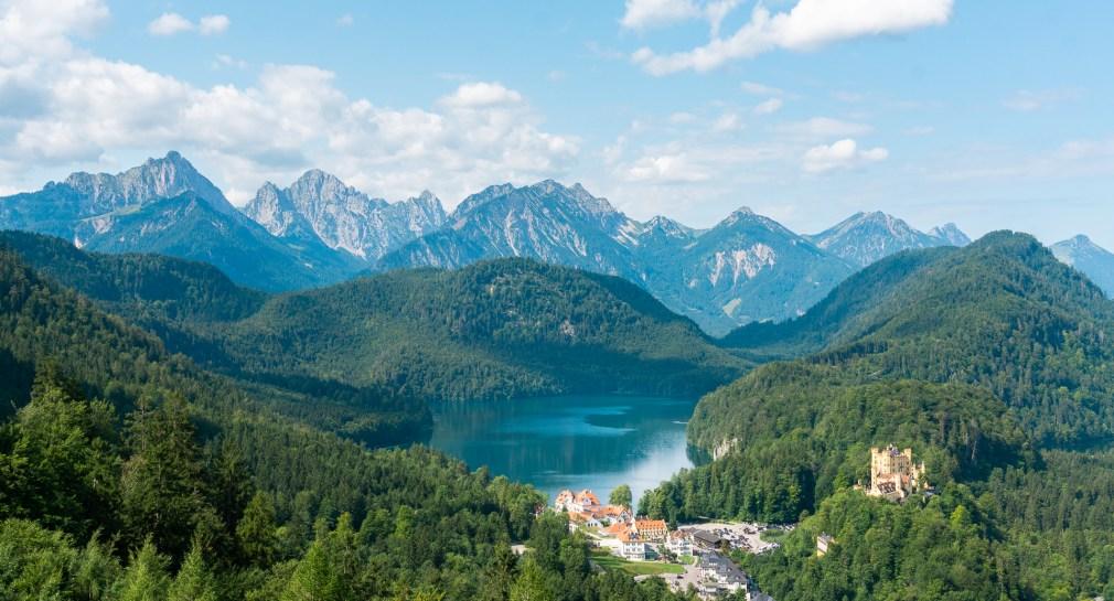 Alpenroute Duitsland