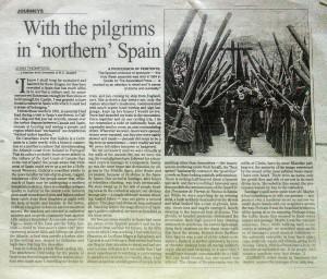 Pilgrims in Spain