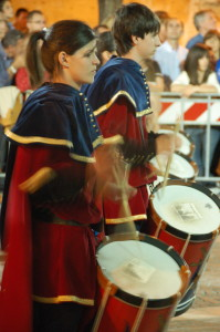 Drummers at Bucchianico Festival