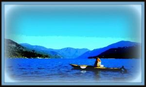 joan kayak july 30 framed