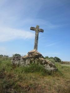 Cross on Camino Sanabres
