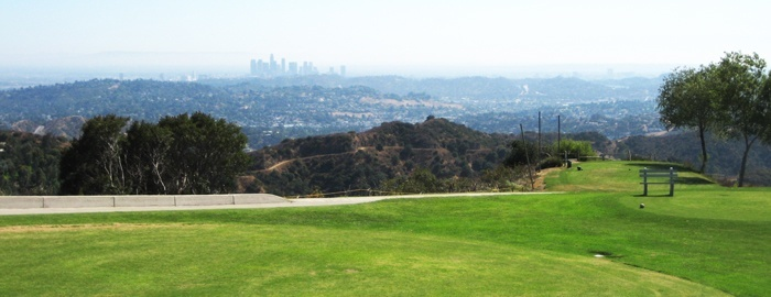 Scholl Canyon golf course