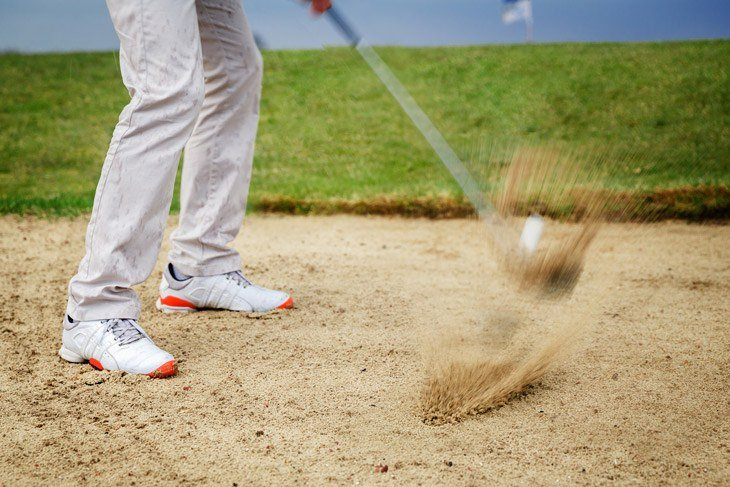 how to build a sand trap