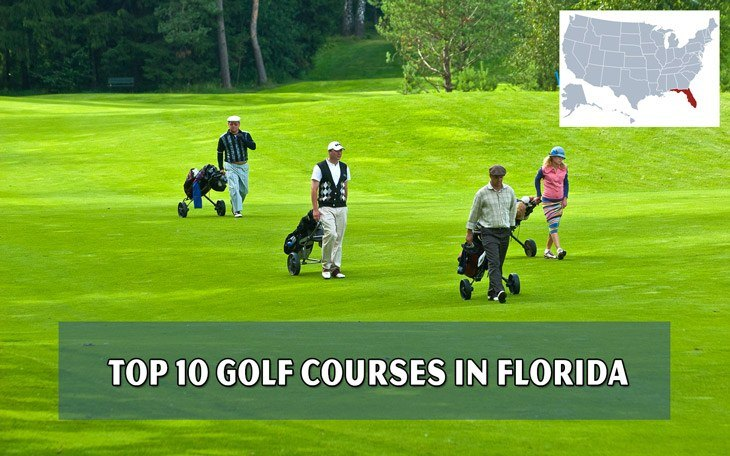 Top 10 golf courses in Florida