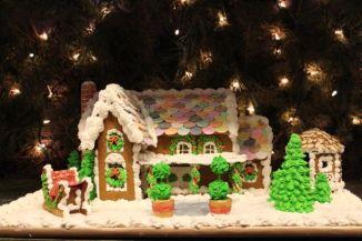 gingerbread fairytale house