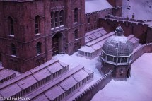 hogwarts in the snow front door