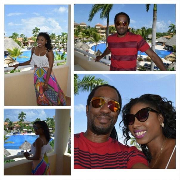 Enjoying Punta Cana!