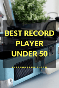 Blog Title Image for Article called Best Record Player Under 50