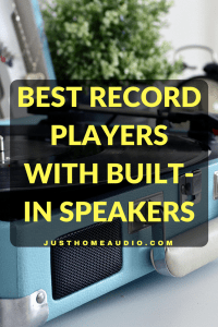 Blog Title Image for Article Called Best Record Players With Built-In Speakers