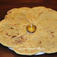 Obbattu | Lentil stuffed Sweet Flatbread