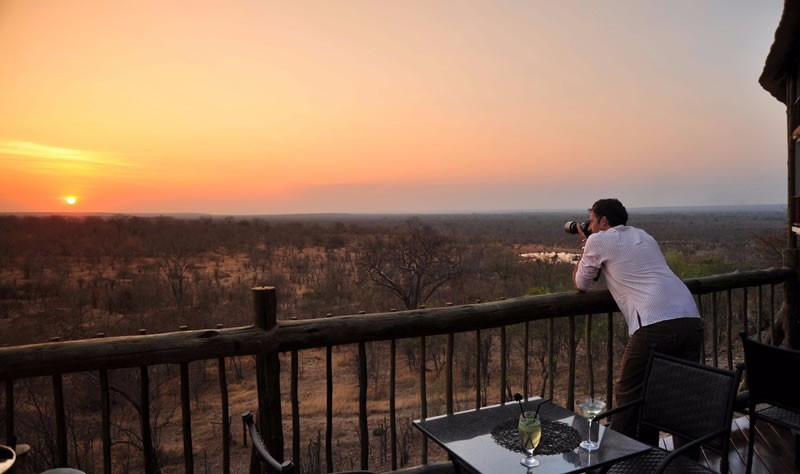 Victoria Falls Safari Lodge, Zimbabwe - Sunset