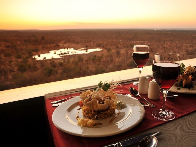 Victoria Falls Safari Lodge, Zimbabwe - Dining
