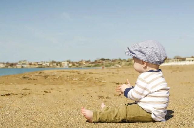Child on the Sand