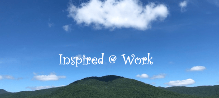 A quest to find inspiration at work