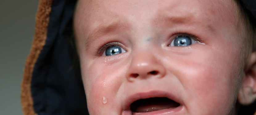 What is it about the crying baby syndrome?