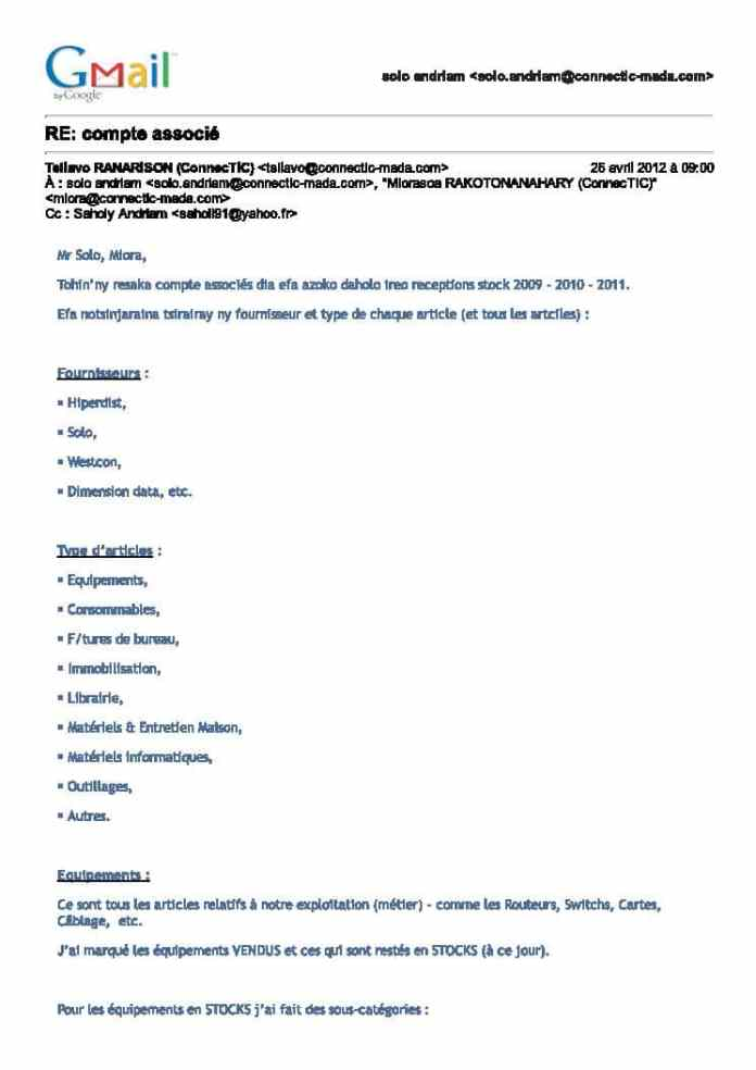 Les virements de 1.047.060 euros ont une contrepartie de 1.361.125 USD et 297.032 euros donc il n'y a pas d'abus de biens sociaux