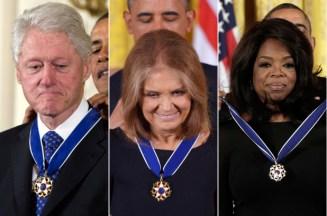 Clinton - Steinem - Winfrey