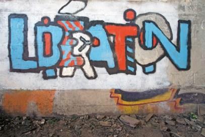 Graffiti libration
