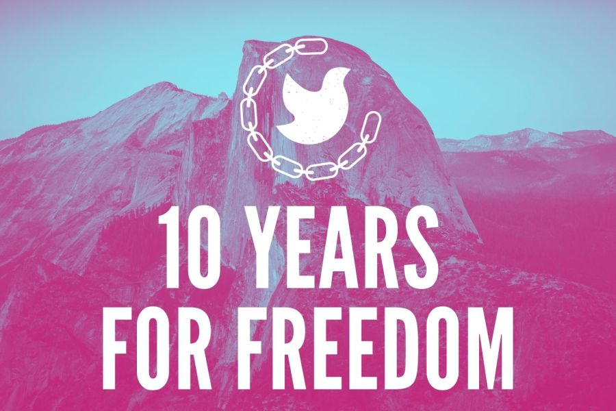 10 Years for Freedom on Zoom