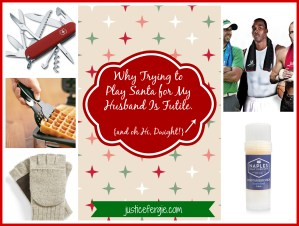 Why Playing Santa For My Husband Is Futile: A Look At My Past Gift Ideas