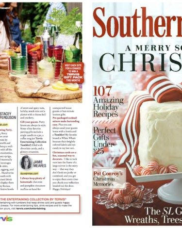 Host a Toasting Party and Fun Hostess Gifts: My Casual Holiday Entertaining Tips in Southern Living!