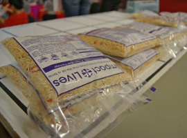 Food packs from Impact Lives