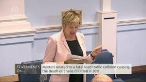 14.06.18 – Senator Ivana Bacik – Call for Public Inquiry into Death of Shane O'Farrell Labour Seanad