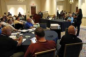The National Association of Drug Court Professionals 21st Annual Training Conference on Tuesday, July 28, 2015 at the Gaylord National Resort & Convention Center in National Harbor, MD. (Paul Morigi/AP Images for National Association of Drug Court Professionals)